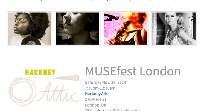 Hannah Judson and Zeb Achonu launch MUSEFest
